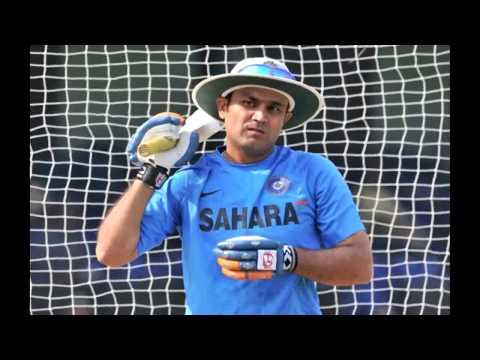 Virender Sehwag strikes first 50 this Ranji season