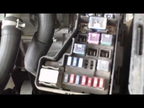 2000 nissan altima fuse diagram wiring for 5 pin trailer plug how to - sentra 1.8l tips youtube