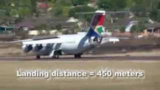 RJ85 Display Flight Pietermaritzburg Air Show