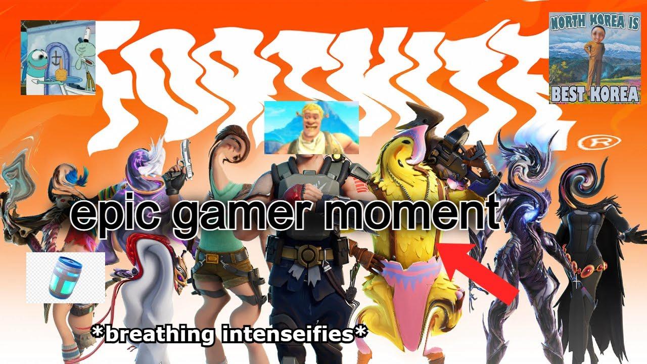 fortnite season 6 epic gamer moment pog