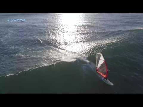 Praia de São João   Windsurfing Wave Session Live   Best Moments