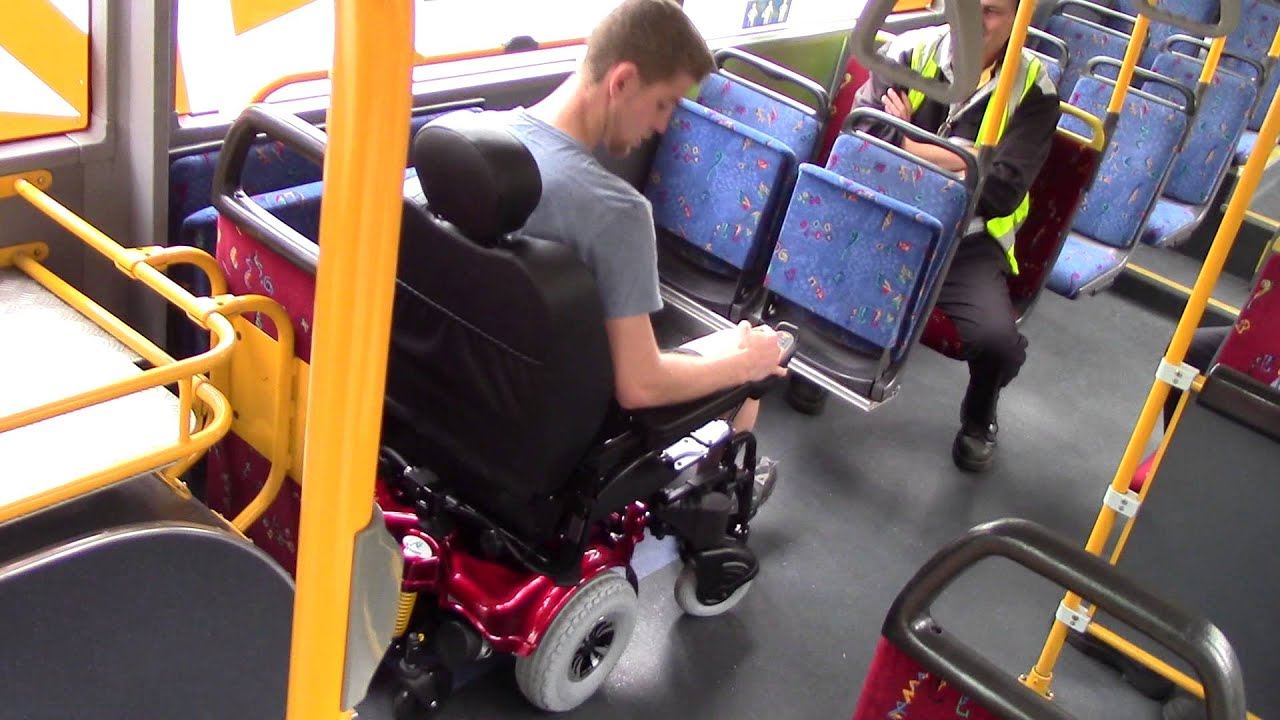 Hookup a man in a wheelchair