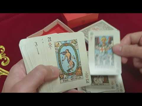 Rider-Waite playing card deck vidéo
