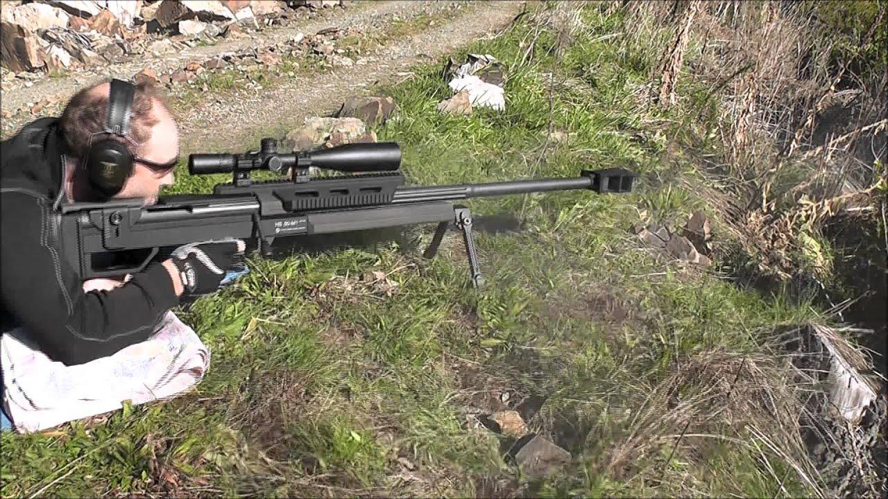 Steyr 50 BMG Muzzle Brake & Suppressor Comparision by TerminatorProducts