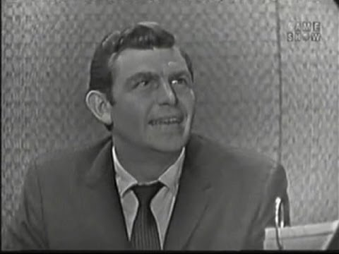 What's My Line? - Andy Griffith; Tony Randall [panel] (May 3, 1959)