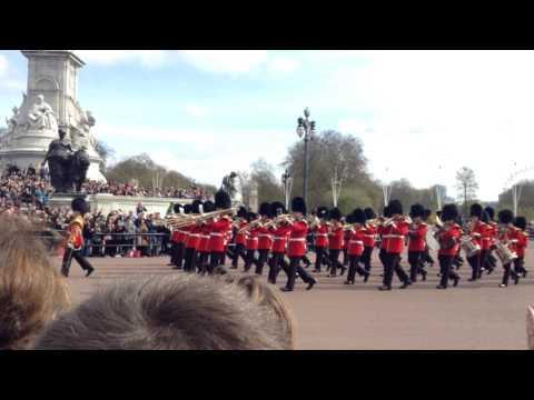 British Royal Guard march on
