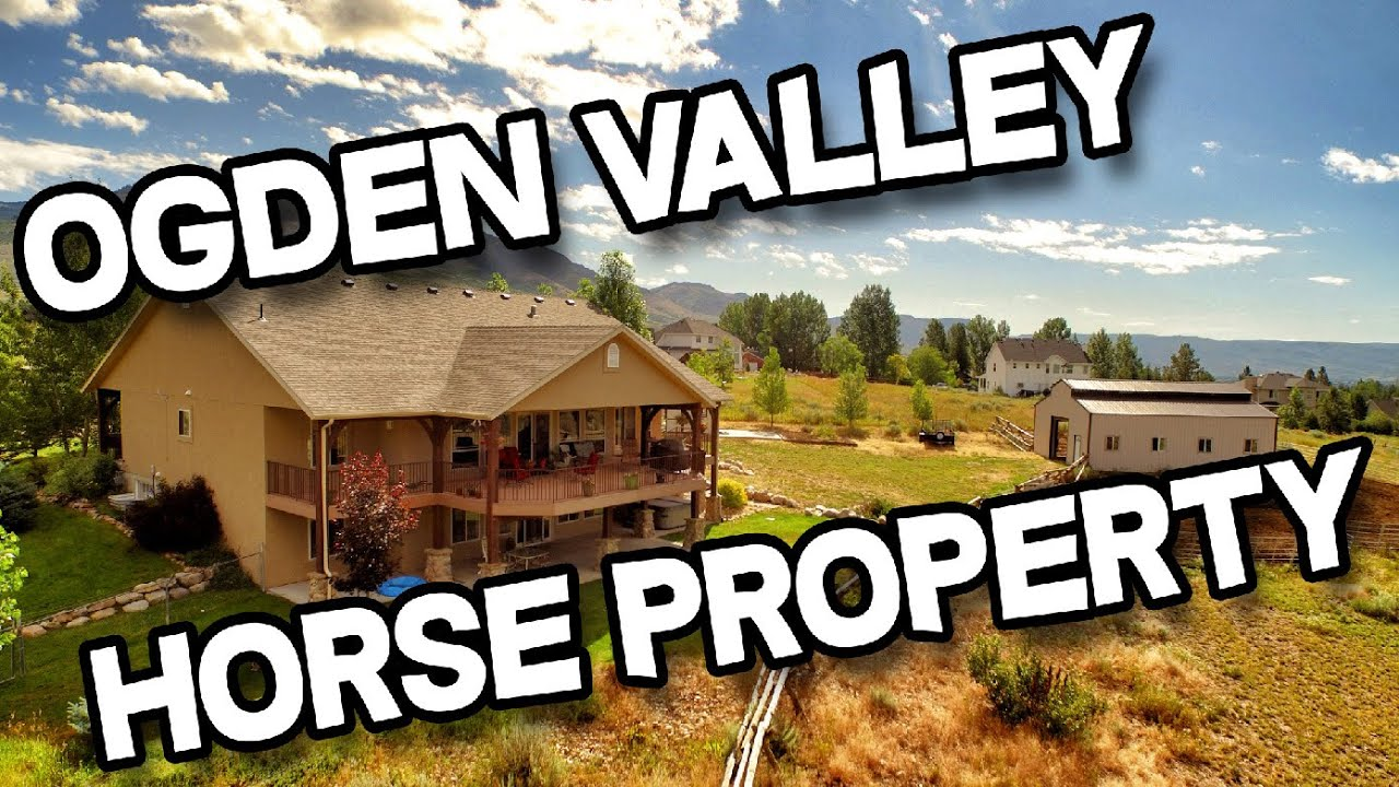 4 Bedroom 3 Bathroom Horse Property Home For Sale In Ogden Valley Utah Youtube