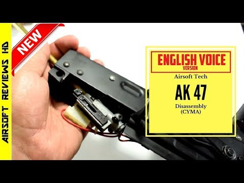 [Tutorial] Airsoft AK 47/74/M Disassembly guide (CYMA) | English