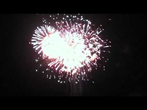 Part two of the fireworks at Muskingum county speedway 7/3/