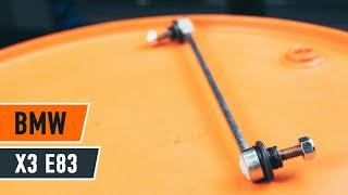Cómo cambiar la bieletas de suspension delantero en BMW X3 E83 INSTRUCCIÓN | AUTODOC