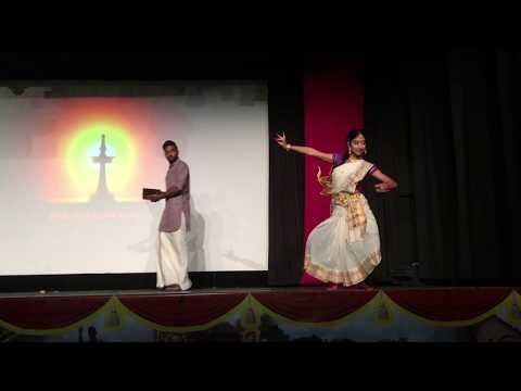 Indian Classical Dance vs. Mridangam - Kyufleck's Onam Celebrations!