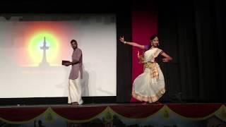 figcaption Indian Classical Dance vs. Mridangam - Kyufleck's Onam Celebrations!