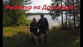 Природа отдых рыбалка Долгозеро Ленинградской области