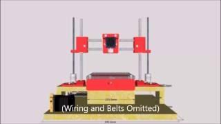 The Cherry 60Euro 3D Printer