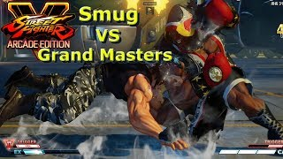 SFV AE - Smug VS Grand Master & Masters