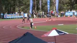 Australian Junior Athletics Championships 800m Final - 15/03/2013