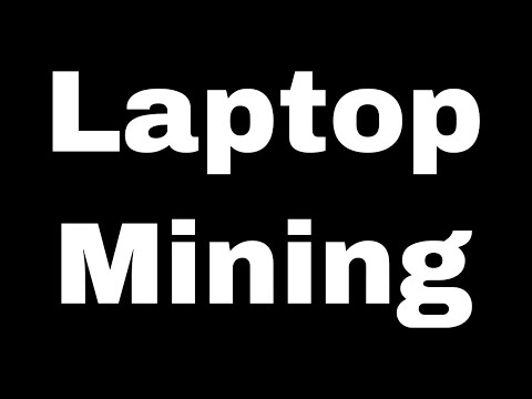 Cryptocurrency Passive Income 2020 - Laptop Bitcoin Mining