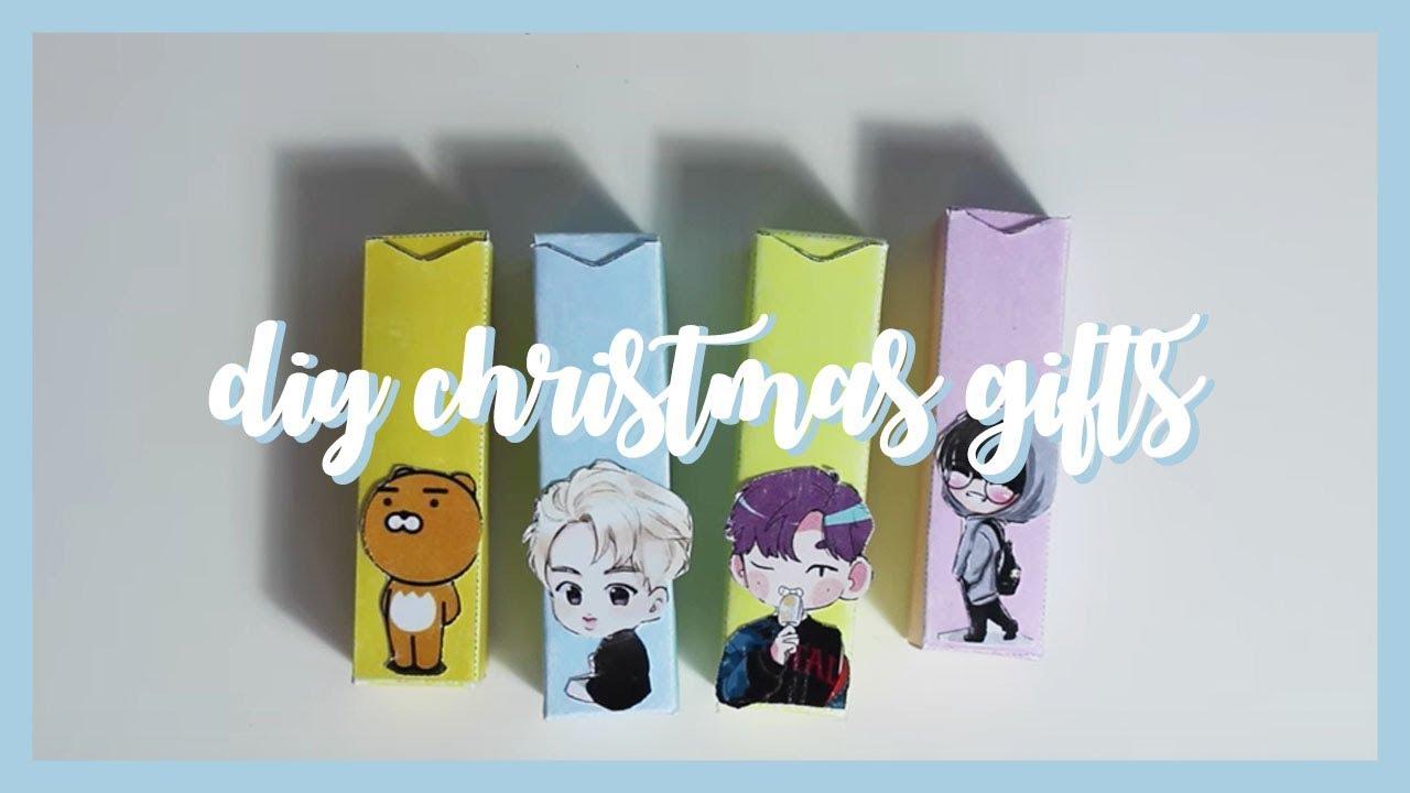 diy kpop christmas gifts - YouTube