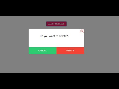 Custom popup message with CSS and jQuery