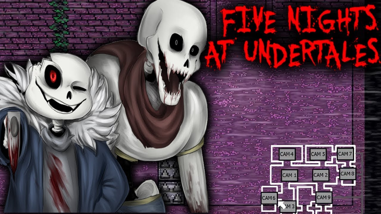 Five Nights At Undertales Fnaf Style Undertale Fan Game Youtube