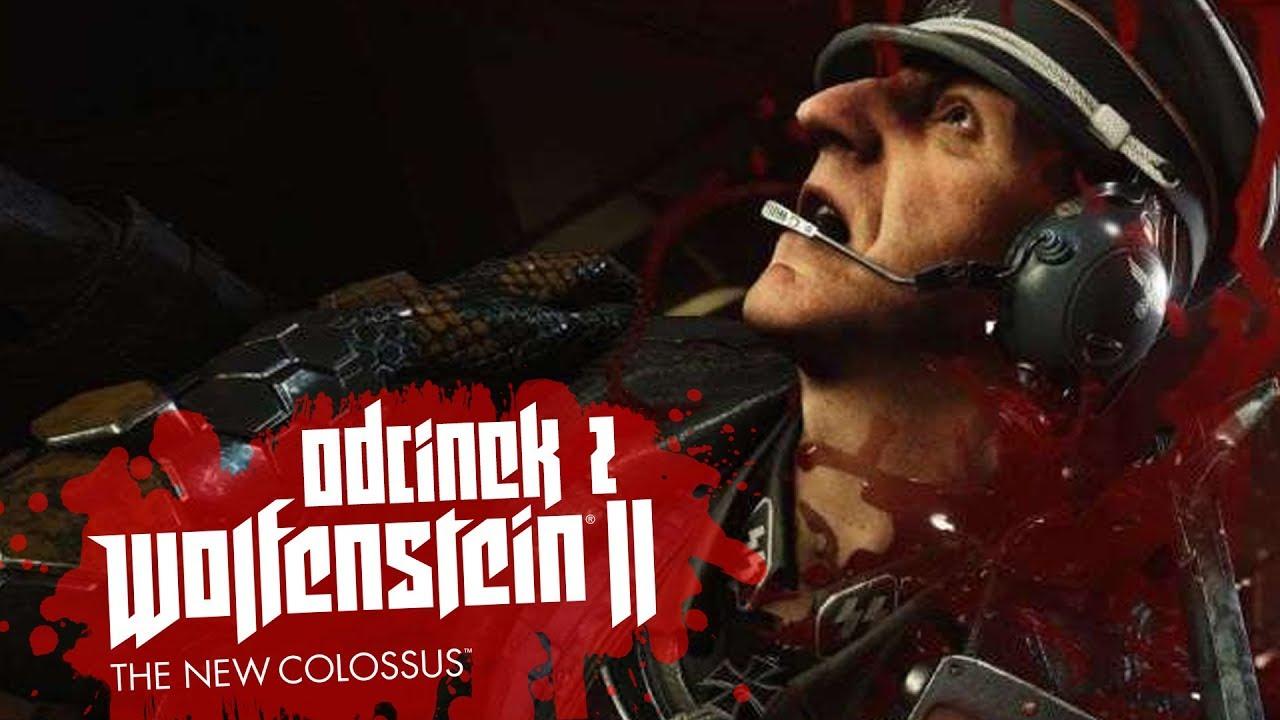Zagrajmy w Wolfenstein II: The New Colossus #2 – UBOT NA WOLNOŚCI! – PC 4K