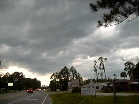 Severe Thunder & Lightning Strorms Approaching Astor, Fl, Pt 1