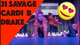 dance hip hop show 1. Platz (deutscher Meister) - hip hop choreography to Drake , Cardi B, 21 savage