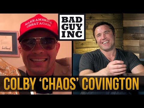 Colby Covington says there may be a brawl at American Top Team...