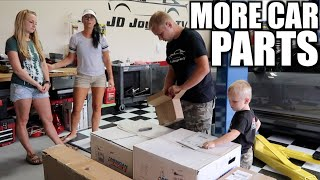Video UNBOXING Car Parts and Fan Mail for Mustang Build download MP3, 3GP, MP4, WEBM, AVI, FLV September 2018