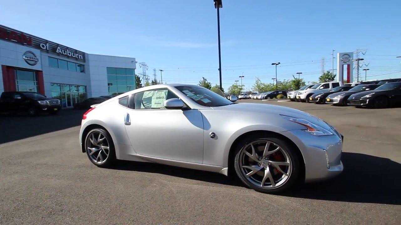 2016 nissan 370z sport silver gm937374 kent tacoma youtube 2016 nissan 370z sport silver gm937374 kent tacoma vanachro Image collections