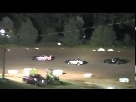 Crowley's Ridge Raceway 8/9/14 #21 Chris Sims Street Stock Feature Race