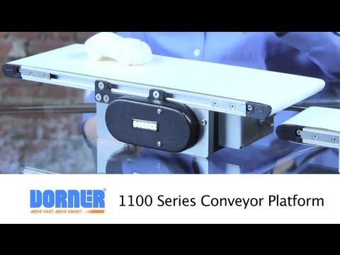 Conveyor for small, lightweight product handling