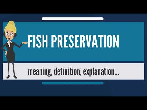 What Is FISH PRESERVATION? What Does FISH PRESERVATION Mean? FISH PRESERVATION Meaning