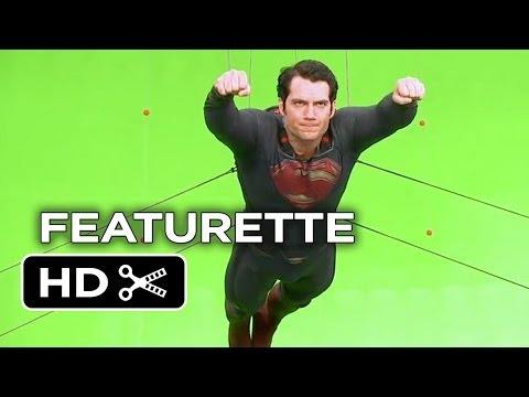 Man of Steel Featurette - Flying (2013) - Henry Cavill Superman Movie HD