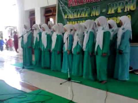 Sholawat Nahdliyah dan Mars Fatayat dan IPPNU Ancab Patianrowo