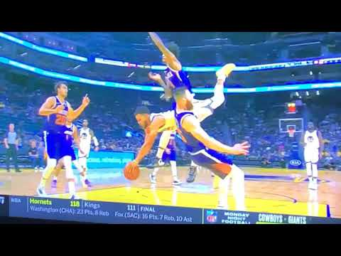 How Stephen Curry Broke His Hand vs Phoenix Suns Wednesday Night