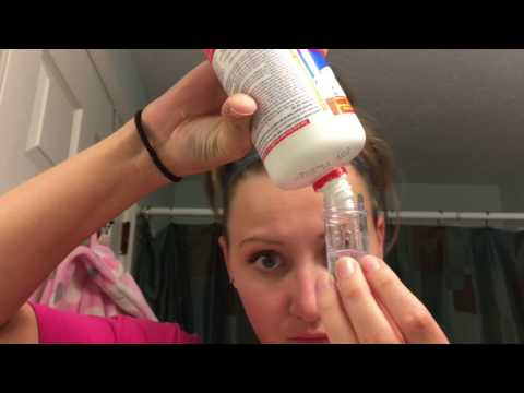 PRODUCT REVIEW - HYDROGEN PEROXIDE CONTACT CLEANSER