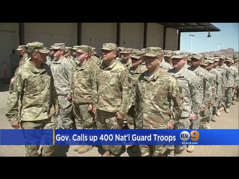 National Guard Troops Headed To US-Mexico Border