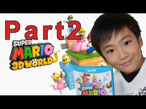 【スーパーマリオ3Dワールド】家族4人で実況プレイ、まさかのゲームオーバーに【part2】