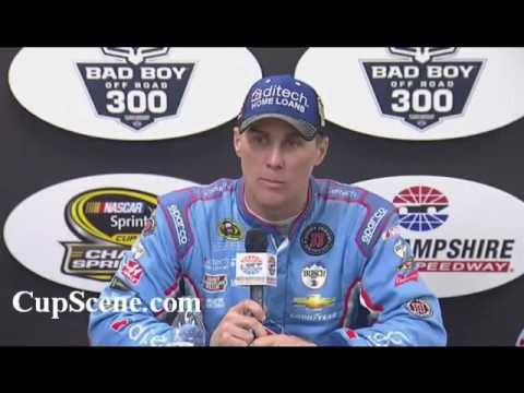 NASCAR at New Hampshire Motor Speedway, Sept. 2016:  Kevin Harvick post race