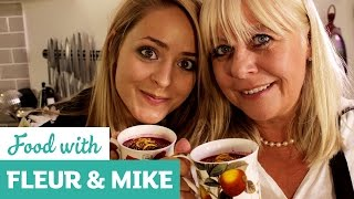 Spicy Beetroot Soup | Fleur & Mike And Sainsbury's Magazine