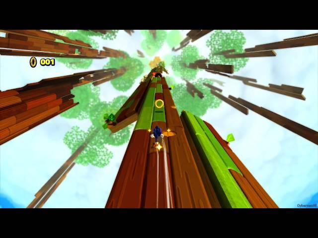 Sonic Lost World ~ Wii U [Part 2 ~ Desert Ruins Zone ~ Boss: Zomom]