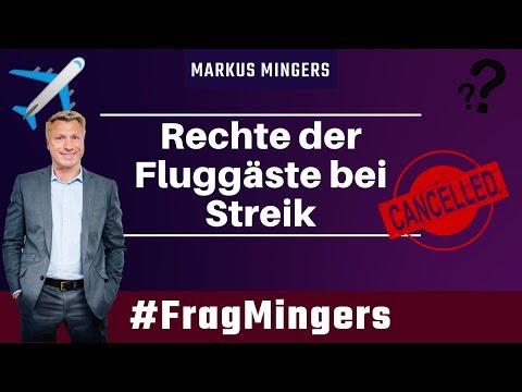 Rechte der Fluggäste bei Streik | #FragMingers