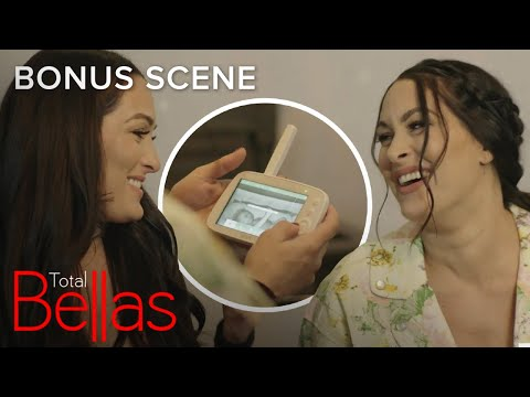 Nikki & Brie Bella Spy on Artem & Baby Matteo | Total Bellas Bonus Scene | E!