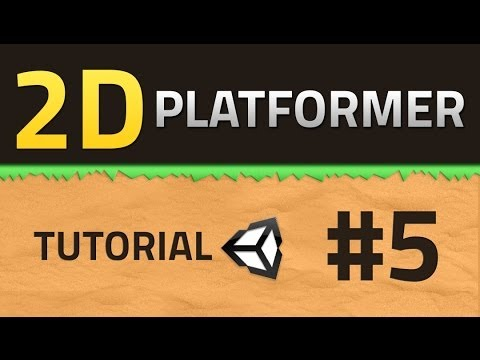 5. How to make a 2D Platformer - CHARACTER - Unity Tutorial