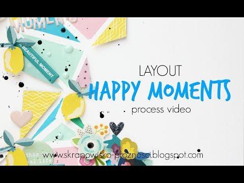 "LO ""Happy moments"" - process video | Hip Kit Club"