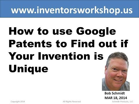 How to use Google Patents to Find out if Your Invention is U