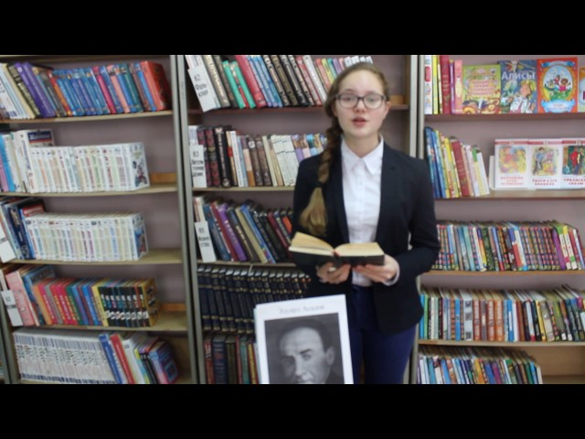 Изображение предпросмотра прочтения – ЛилияСалимгареева читает произведение «Стихи о рыжей дворняге» Э.А.Асадова