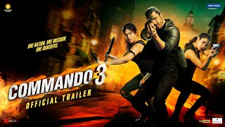 Vidyut Jammwal's Commando 3 (2019) Hindi Movie  Trailer