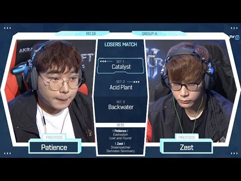 [2018 GSL Season 2] Code S Ro.16 Group A Match4 Patience vs Zest